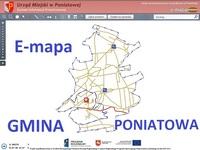 E - mapa Gminy Poniatowa